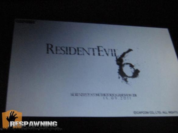logo de resident evil 6