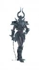Armadura Black Knight para Ella